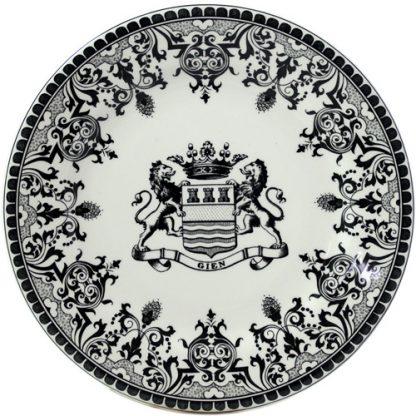 Gien Les Depareillees Blason Dinner Plate