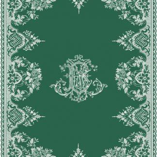 Gien Les Depareillees Monogramme Tea Towel
