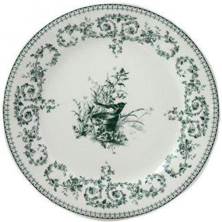 Gien Les Depareillees Oiseau Dinner Plate