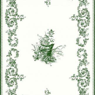 Gien Les Depareillees Oiseau Tea Towel