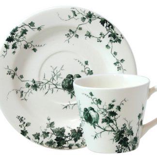 Gien Les Oiseaux Tea Saucer