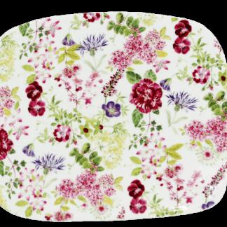 Gien Millefleurs Organic Square Plate