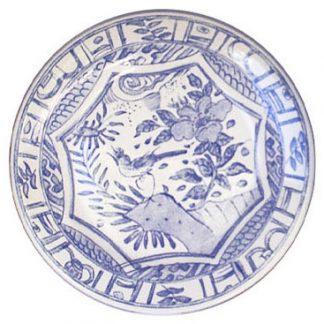 Gien Oiseau Bleu Canape Plate