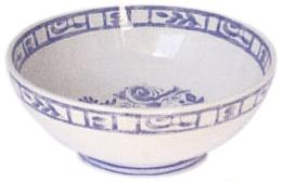 Gien Oiseau Bleu Cereal Bowl