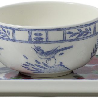 Gien Oiseau Bleu Hostess Set