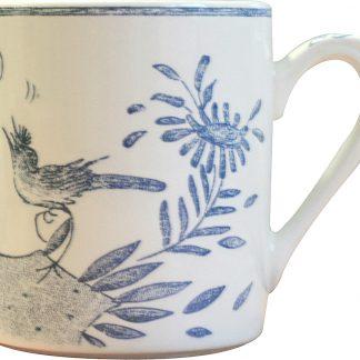 Gien Oiseau Bleu Mug