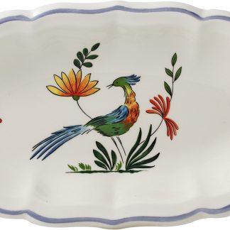 Gien Oiseaux De Paradis Pickle Dish