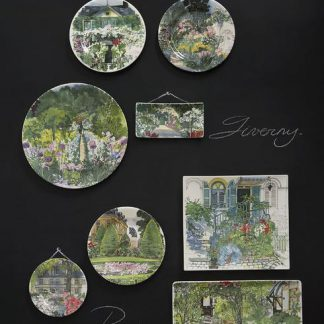 Gien Paris A Giverny Acrylic Serving Tray
