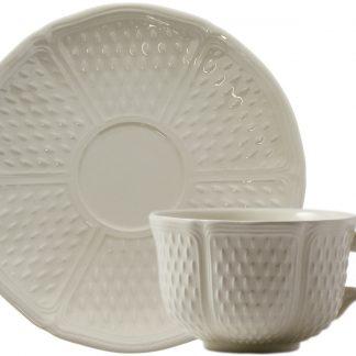 Gien Pont Aux Choux Blanc Breakfast Cup