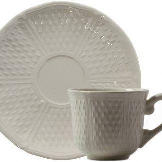 Gien Pont Aux Choux Blanc Tea Cup