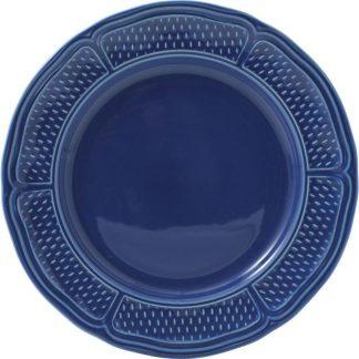 Gien Pont Aux Choux Bleu Canape Plate