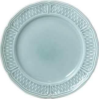 Gien Pont Aux Choux Celadon Canape Plate