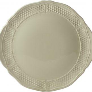 Gien Pont Aux Choux Cream Cake Platter
