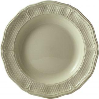 Gien Pont Aux Choux Cream Dinner Plate