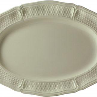 Gien Pont Aux Choux Cream Oval Platter Size 4