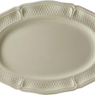 Gien Pont Aux Choux Cream Oval Platter Size 6