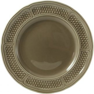 Gien Pont Aux Choux Taupe Dessert Plate Taupe