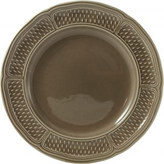 Gien Pont Aux Choux Taupe Dinner Plate Taupe