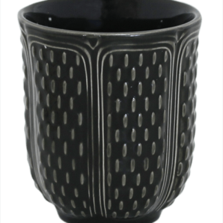 Gien Pont Aux Choux Tea Cup Midnight