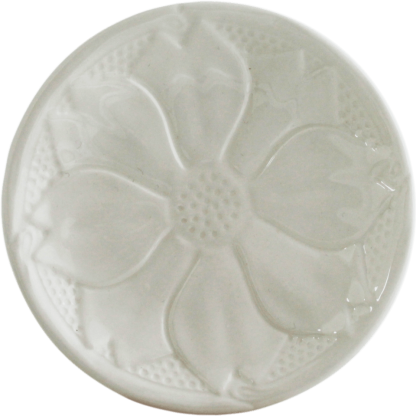 Gien Reliefes Coasters White