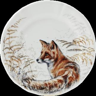 Gien Sologne Dessert Plate - Fox