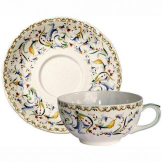 Gien Toscana Breakfast Cup And Saucer