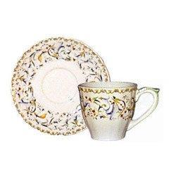 Gien Toscana Us Tea Cup And Saucer