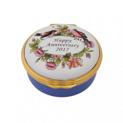 Halcyon Days 2017 Happy Anniversary Box