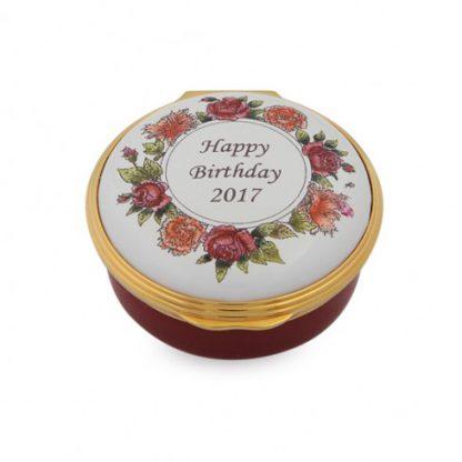 Halcyon Days 2017 Happy Birthday Box