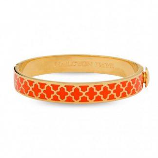 Halcyon Days Agama Orange & Gold Bangle