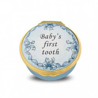 Halcyon Days Baby's First Tooth Blue