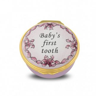 Halcyon Days Baby's First Tooth Pink