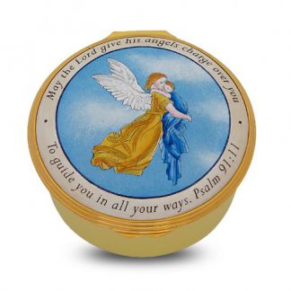 Halcyon Days Guardian Angel Christening Box