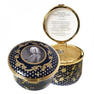 Halcyon Days Handel's 'Water Music' Musical Box - MADE TO ORDER