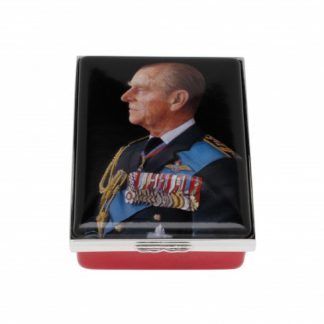 Halcyon Days HRH The Duke of Edinburgh by Richard Stone 70th Wedding Anniversary Box