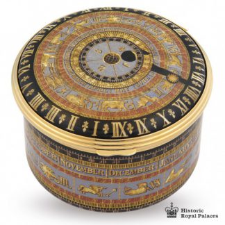 Halcyon Days HRP Astronomical Clock Musical Box