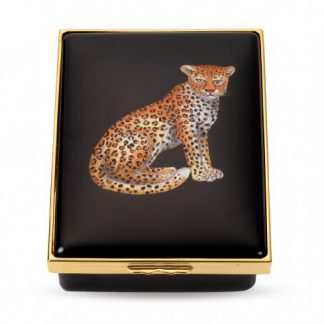 Halcyon Days Leopard Box