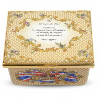 Halcyon Days The Longest Reign Musical Box Limited Edition of 63