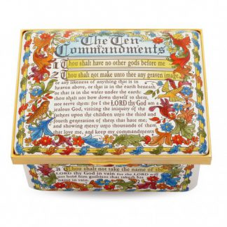 Halcyon Days The Ten Commandments Box