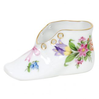 Herend Baby Shoe