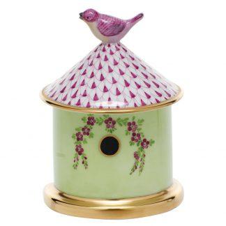 Herend Bird House Box