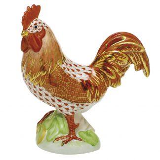 Herend Birds Proud Rooster