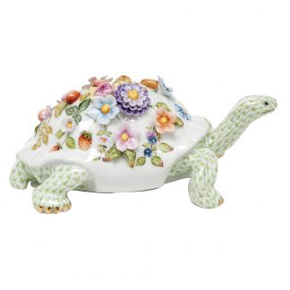 Herend Blossoming Tortoise