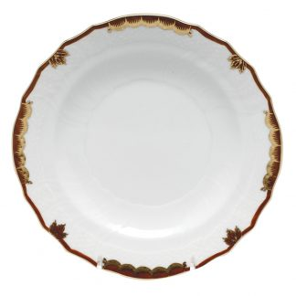 Herend Bread And Butter Plate Brown