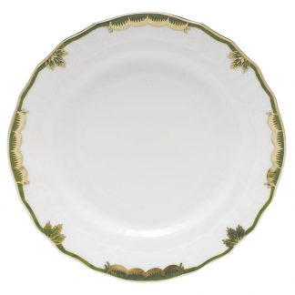 Herend Bread And Butter Plate Green