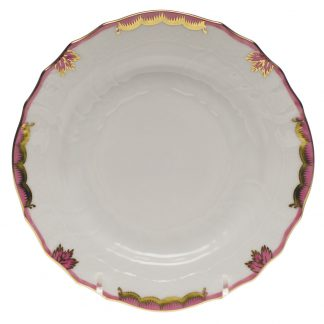 Herend Bread And Butter Plate Pink