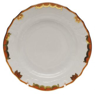 Herend Bread And Butter Plate Rust