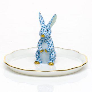 Herend Bunny Ring Holder