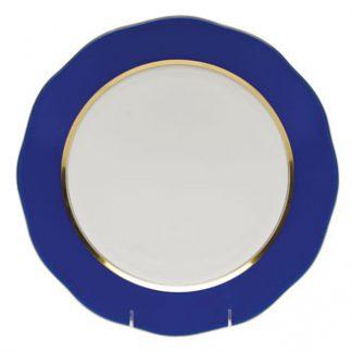 Herend Charger Cobalt Blue