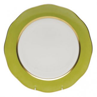 Herend Charger Olive
